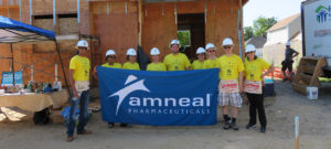 Long Island, NY Colleagues Brave Summer's Heat to Help Habitat for Humanity®